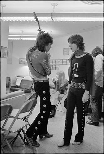 "Mick Jagger & Keith Richards ""Riff"", 1969 by Ethan Russell"