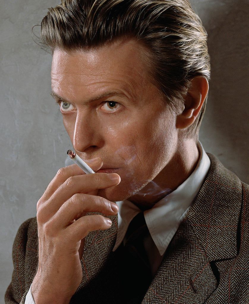 David Bowie, Smoking 2001 by Markus Klinko