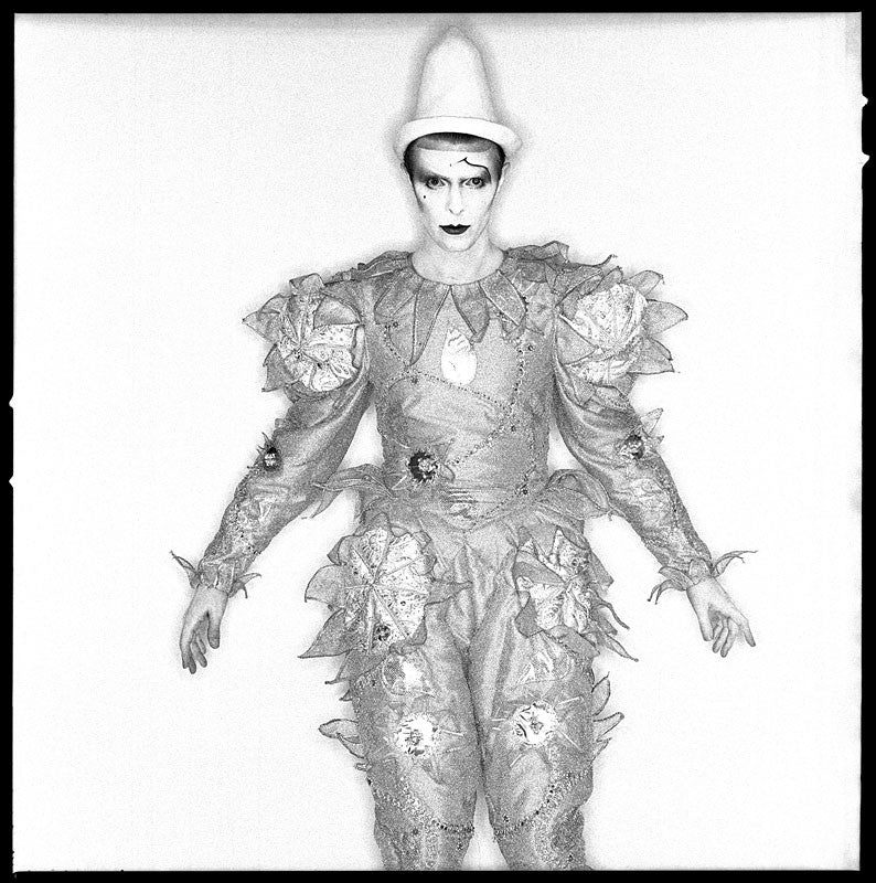 "David Bowie ""Scary Monster"", Pierot 1980 by Duffy"