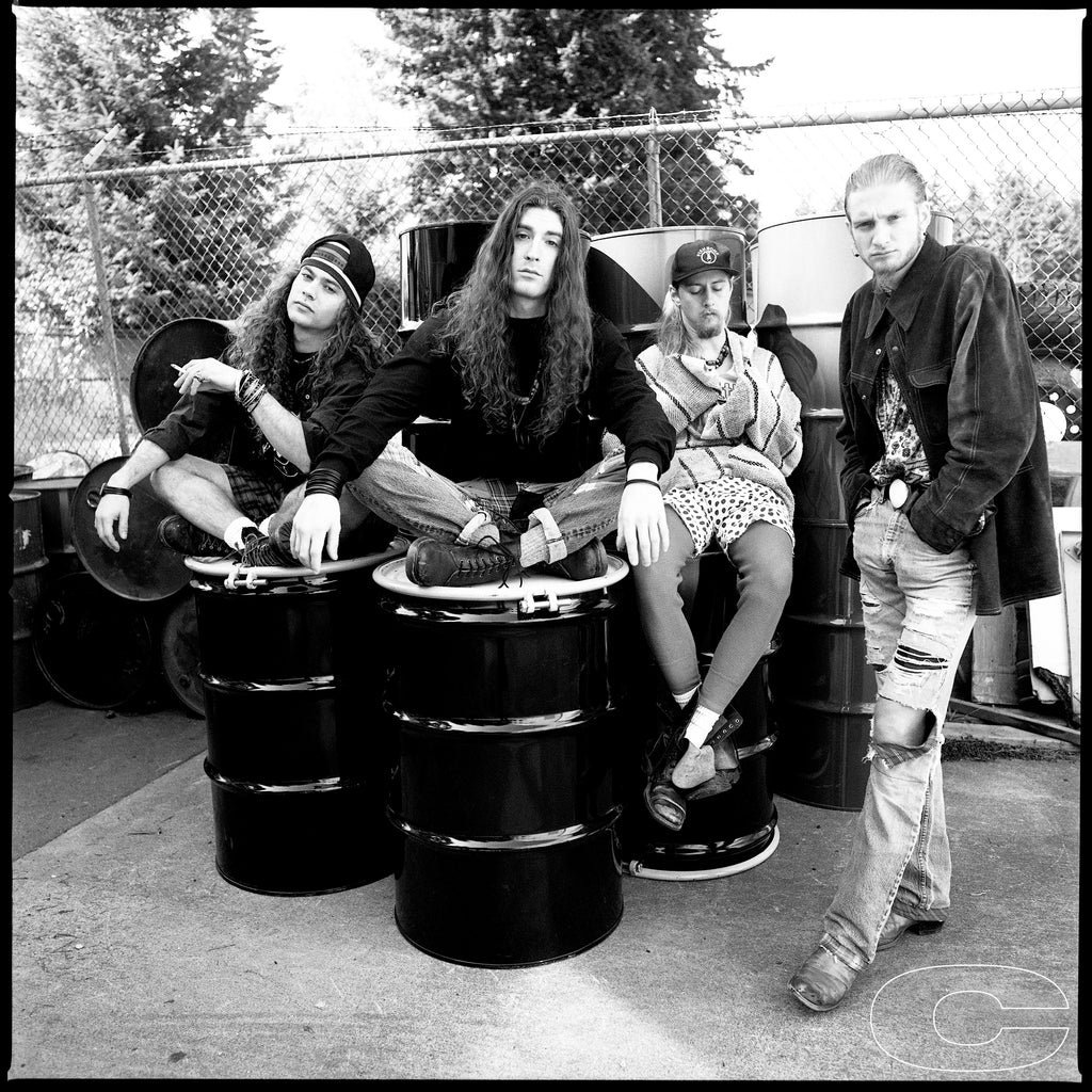 Alice In Chains, 1991 by Chris Cuffaro