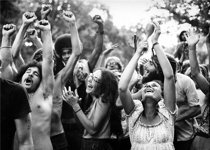 The Holy Man Jam, Boulder, CO 1970 by Robert Altman