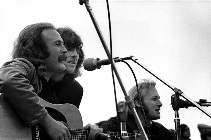 Crosby Stills & Nash, Big Sur, CA 1969 by Robert Altman