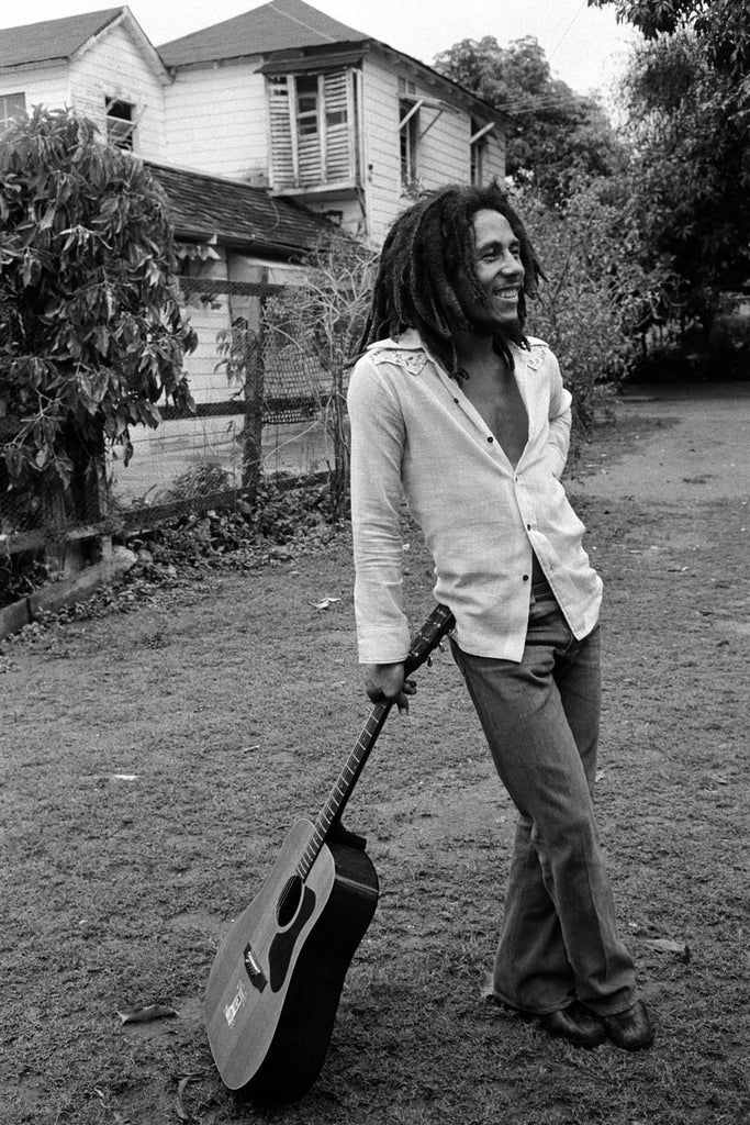 Bob Marley, 1976 by David Burnett