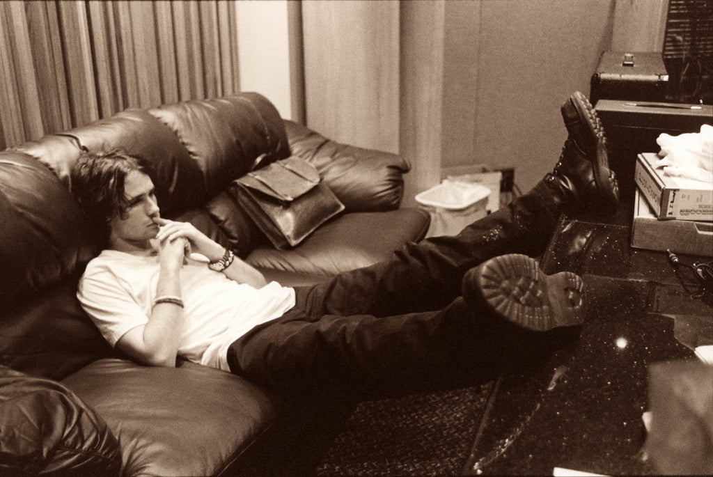 Jeff Buckley, Boots Up, Eternal Life 1994 by Merri Cyr