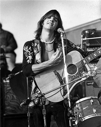 Gram Parsons with the The Flying Burrito Brothers, Altamont, CA 1969 by Robert Altman