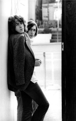 Mick Taylor and Charlie Watts, Los Angeles, CA, 1969 by Robert Altman