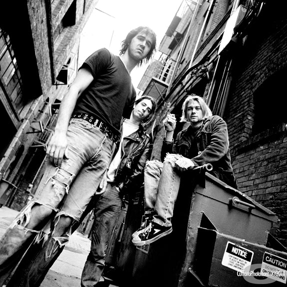 Nirvana 1, 1991 by Chris Cuffaro