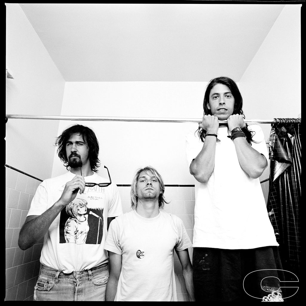 Nirvana, 1991 by Chris Cuffaro