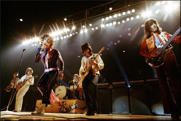 The Rolling Stones, Onstage, 1972 by Ethan Russell