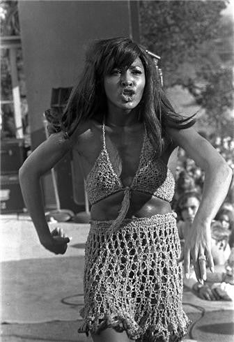 Tina Turner - The Ike and Tina Turner, Stockton, CA 1969 by Robert Altman