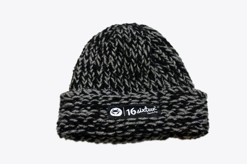 Cuffed Knitted Beanie - Grey (3M)
