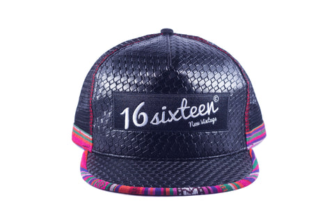 Lux Trucker Hat - Black