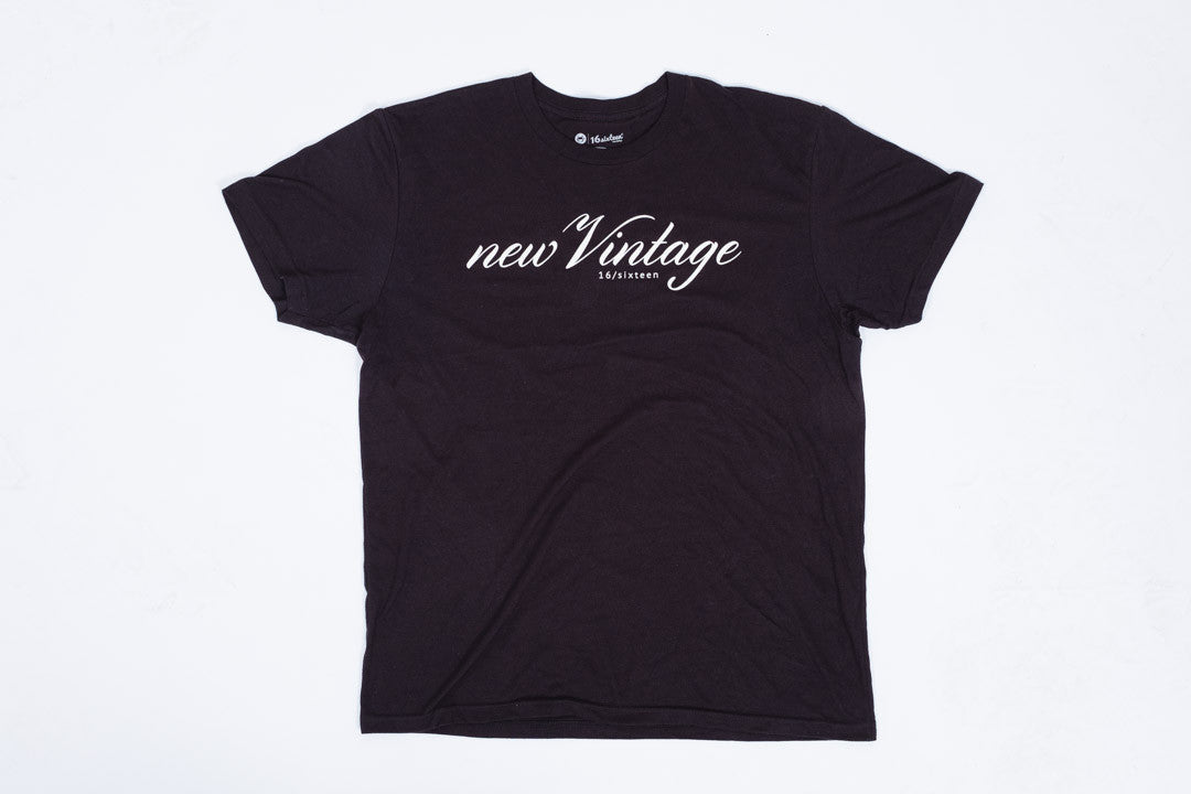 New Vintage T-shirt - Black
