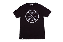 Charm City Crew T-shirt - Black & White