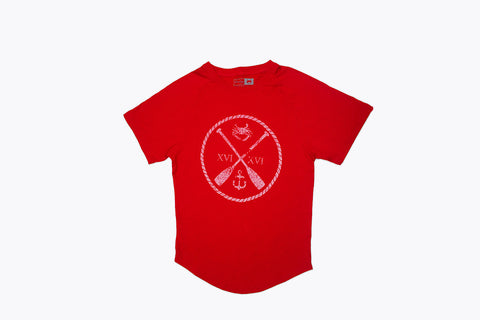 Charm City Crew T-shirt - Red