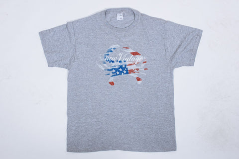 New Vintage Stars and Stripes - Gray