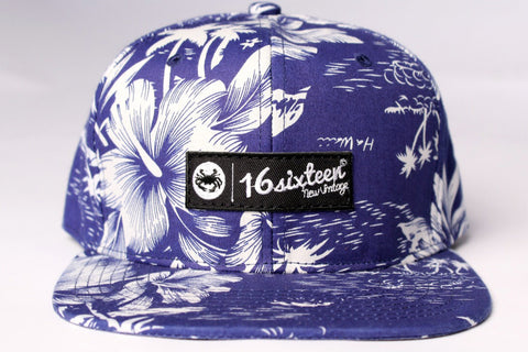 Mid profile 6 panel Strapback - Hawaii