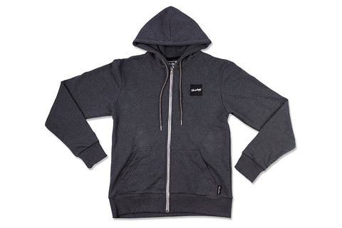 Zip-up Hoodie - Charcoal