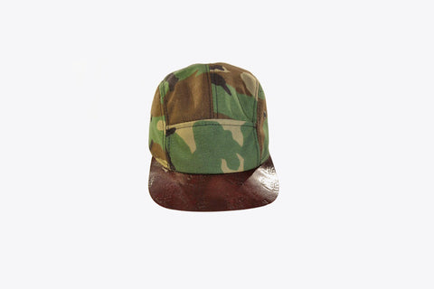 CORDURA & Leather 5-Panel Camper