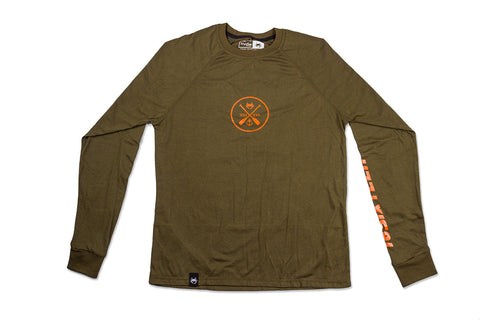 Raglan Long Sleeve - Olive