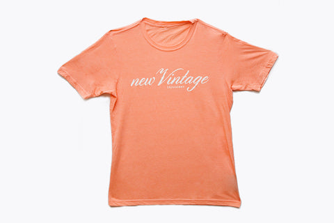 New Vintage T-shirt - Light Peach