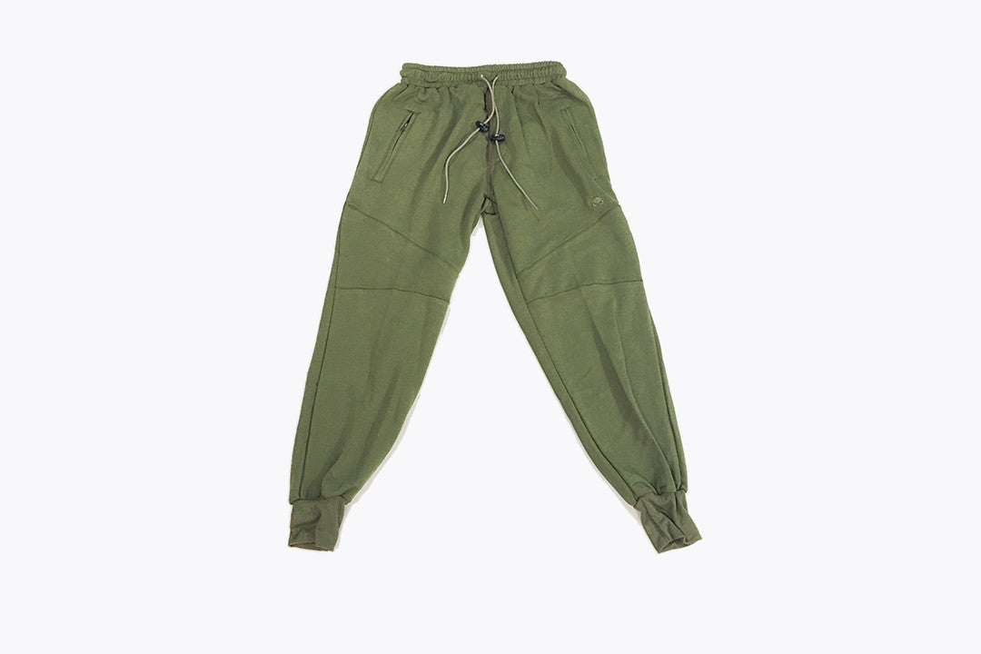 16sixteen Soft Shell Joggers - Olive