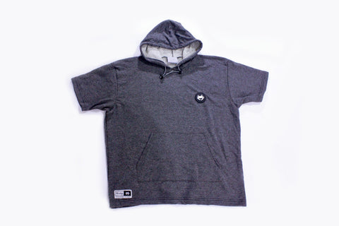 Short Sleeve Pullover - Charcoal