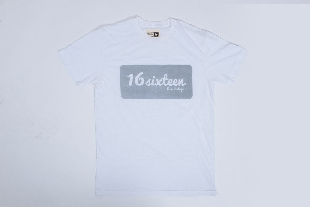 16Sixteen 3M Box Logo - White