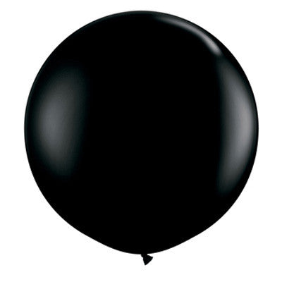 "36"" Round Balloon - Black"