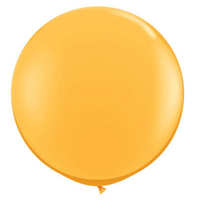 "36"" Round Balloon - Goldenrod"