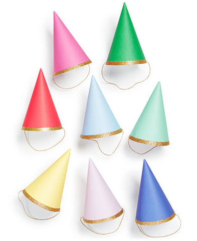 Mini Party Hats | Happy Birthday Multi