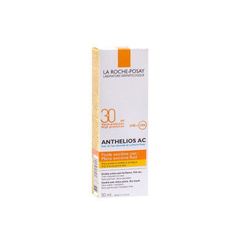 Roche Posay Anthelios fluid acnee SPF 30, 50ml, Roche Posay