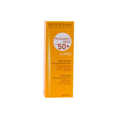Photoderm Max Ultra Fluide incolor SPF 50+, 40 ml, Bioderma