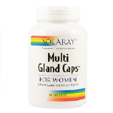 Multi Gland Caps for Women, 90 capsule, Secom