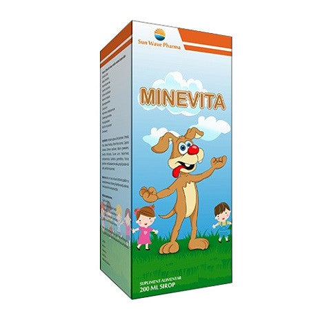 Minevita  Sirop 200 Ml  Sun Wave Pharma