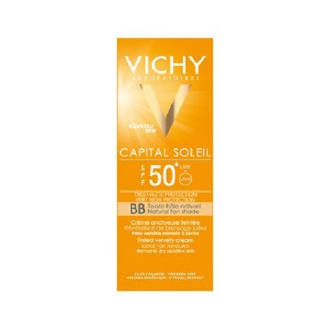 Ideal Soleil  Crema onctuoasa BB, SPF50+, 50ml, Vichy