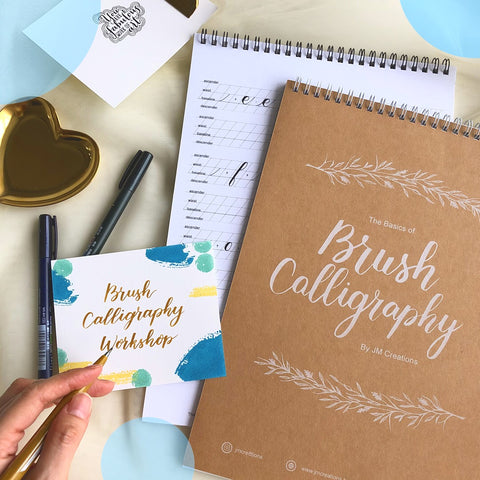 Basic Brush Calligraphy Workshop 23 March 2019