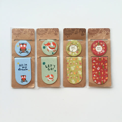 Bookmark - Magnetic Page Clips