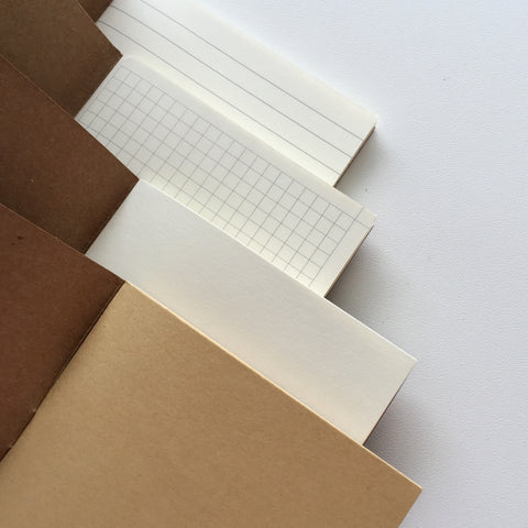 Fauxdori Notebook Inserts (110mm x 210mm) - Deluxe (110g)