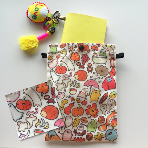 Fauxdori Canvas Fabric Pouch
