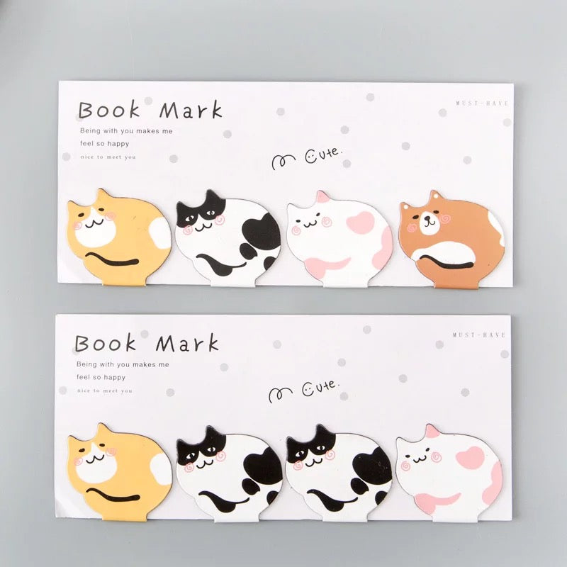 Bookmark - Magnetic Animals 4-Piece Pack