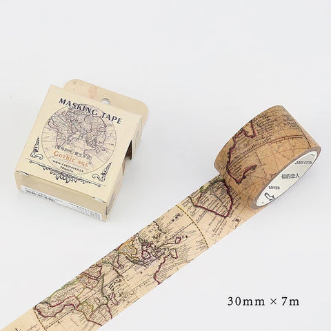 Masking Tape - Gothic Age (World Map)