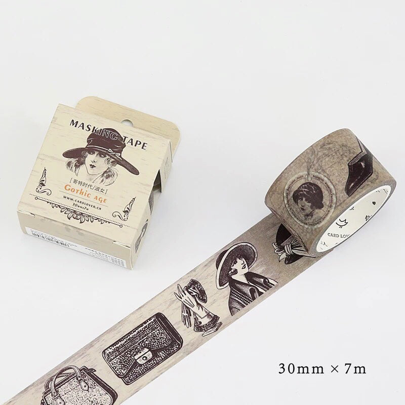 Masking Tape - Gothic Age (1920s Fashion)