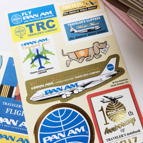 Sticker Pack (Decorative) - Pan Am 2017 Sticker Set