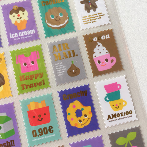 Sticker Pack (Decorative) - Novelty Stamps