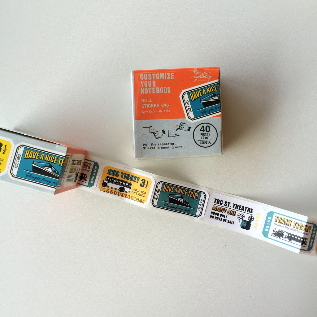 Sticker Pack (Decorative) - Pullout Travel Labels