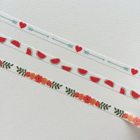 Washi Tape (Slim) - Spring