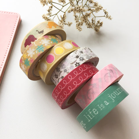 Washi Tape - Assorted