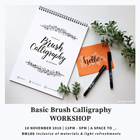 Basic Brush Calligraphy Workshop
