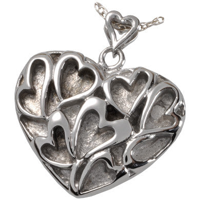 Heart of Hearts Cremation Pendant